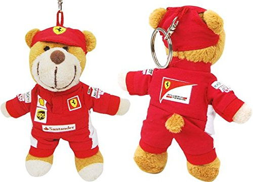 Sportbaer-21510-Ferrari-Teddy-Keyring-beige