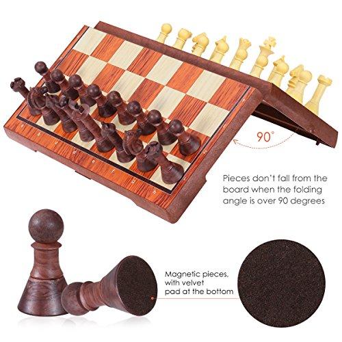 iBaseToy-Magnetisch-Schachspiel-2-in-1-fr-Schach-und-Dame-Set-mit-Faltbarem-Schachbrett-Pdagogisches-Spiel-fr-Erwachsene-und-Kinder-36-x-31cm