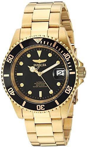 Invicta-8929OB-Pro-Diver-Unisex-Uhr-Edelstahl-Automatik-schwarzen-Zifferblat