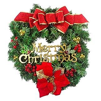 Weihnachtskranz-Trkranz-Kits–50cm-Hukz-Weihnachten-Kranz-Hngende-Girlande-fr-Haustr-Deko-Winter-Haus-Dekoration-Deko-Kranz-Tannenkranz-Adventskranz-Weihnachts-Weihnachtsdeko-Weihnachtsgirlande