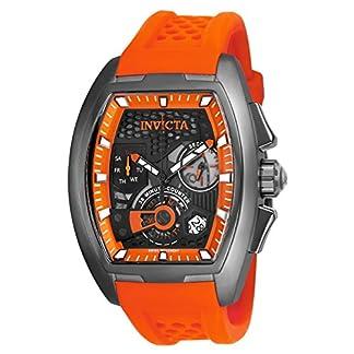 Invicta-S1-Rally-Herren-Armbanduhr-Armband-Silikon-Marine-Quarz-Analog-25937
