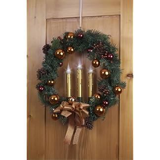 Weihnachtskranz-mit-LED-Beleuchtung-rot