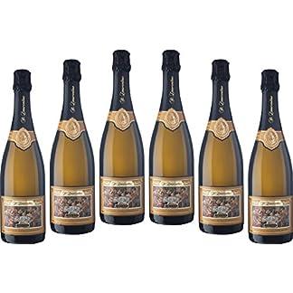 6-Flaschen-Sekthaus-St-Laurentius-Riesling-Trocken-Klassische-Flaschengrung-Deutscher-Sekt-2015