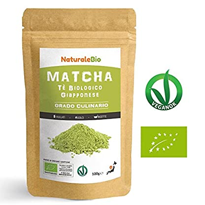 Matcha-Tee-Pulver-Bio-Cooking-Qualitt-100-GR-Original-Green-Tea-aus-Japan-Japanischer-Matcha-Ideal-zum-Smoothies–Shakes-Latte-Tee-hergestellt-in-Japan-Uji-Kyoto-NATURALEBIO