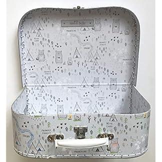 Sass-and-Belle-KofferKinderkofferPuppenkofferAufbewahrungsbox-Pappkoffer-3-Verschiedene-Gren