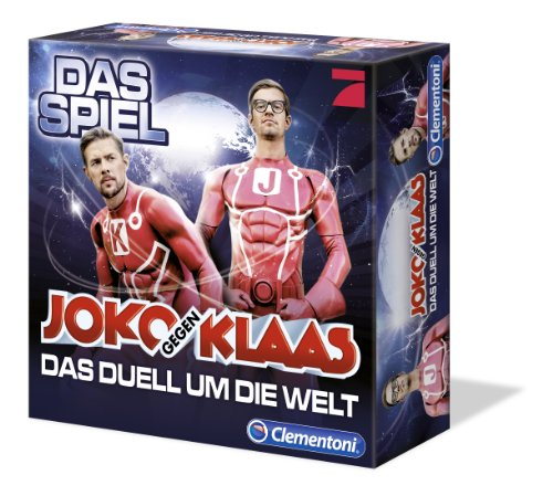 Clementoni-690213-Joko-und-Klaas-Das-Duell-um-die-Welt-Brettspiel-Clementoni-693795-Joko-gegen-Klaas-Ergnzungsset