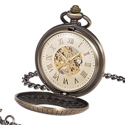 ManChDa-Einzigartige-Taschenuhr-Hohl-Fall-Skelett-Mechanische-fr-Mnner-Frauen-mit-Kette-Geschenk-Box