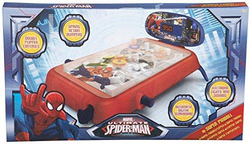 Unbekannt-SAMBRO-Ultimate-Spiderman-Super-Pinball-mittel
