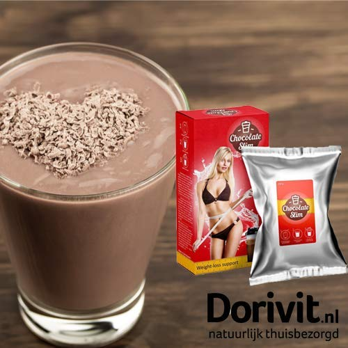 New and Improve Chocolate Slim Shake for Weight Management Sold By Dorivit.