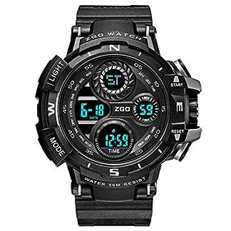 CIVO-Herren-Jungen-Digitaluhr-Militr-Chronographen-Multifunktions-Sportuhr-50M-Wasserdicht-LED-Alarm-Datum-Kalender-Armbanduhren-Business-Casual-Mode-Coole-Tactical-Geschfts-Gummi-Uhr-fr-Herren