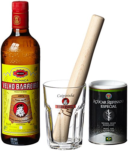 Velho-Barreiro-Caipi-Set-II-Caiprinha-Bundel-Cachaca-Rohrzucker-Stampfer-Glas-in-Geschenkverpackung-1-x-07-l