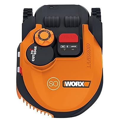 Worx-Landroid-SO500i-Mhroboter-Automatischer-Rasenmher-fr-bis-zu-500-qm-mit-WLAN-Verknpfung-App-Steuerung-und-verstellbarer-Schnitthhe-542-x-401-x-236-cm-L-x-B-x-H