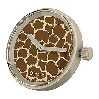Fullspot-O-clock-Unisex-Armbanduhr-O-clock-interchangeable-face-Analog-silikon-mehrfarbig-OCF40