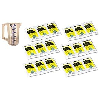 KRCHER-18x-17g-Entkalkerpulver-fr-Dampfreiniger-Wasserkocher-und-Kaffeemaschinen-Entkalkersticks-in-Pulverform-6295-2060-6295-0470-2×6295-9870-inkl-Messbecher-05l