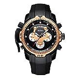 Herren-Schwarz-Uhren-Mnner-Chronograph-Wasserdichte-Militr-Sportuhr-groes-Gesicht-leuchtende-Datum-multifunktionale-Uhren-einzigartiges-Design-Draussen-Mode-Klassisch-Analog-Quarzuhren-fr-Mnner-G
