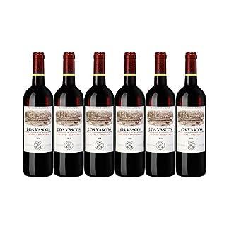 Los-Vascos-Cabernet-Sauvignon-6-x-075l-Kellnermesser-Rotwein-aus-Chile