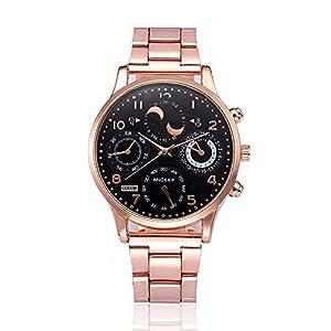 Armbanduhr-Men-Liusdh-Uhren-Luxuriser-6-Farben-Quarz-mit-Zifferblatt-aus-Edelstahl-und-schwarzem-Zifferblatt-aus-Glas-und-staubdichter-Kette-Uhr