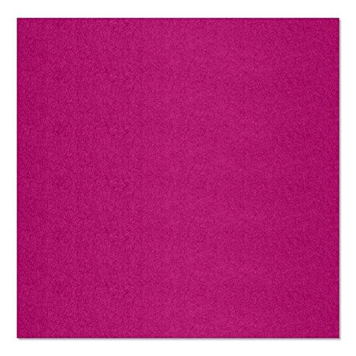 SIMON PIKE echter Filz in pink aus 100% reinem Wollfilz, Filzplatte zum nähen 100 cm x 45 cm (2mm dick) aus Filzwolle ideal als Bastelfilz oder Taschenfilz