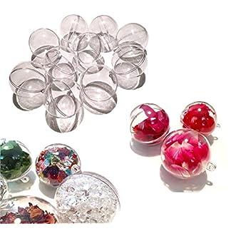 CRYSTAL-KING-10-Stck-Acryl-Kugeln-15-cm-gro-Bastel-Kugeln-Acrylkugel-Transparent-teilbar-Durchsichtig-Kunstoff-Kugel-Acryl-Acrylic-Ball-Acrylkugeln-150mm