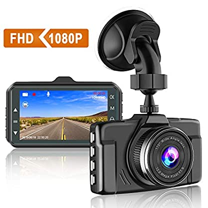 CHORTAU-Dash-Cam-1080P-FHD-Car-Dash-Camera-3-inch-Dashboard-Camera-with-Night-Vision-170Wide-Angle-Parking-Monitor-Loop-Recording