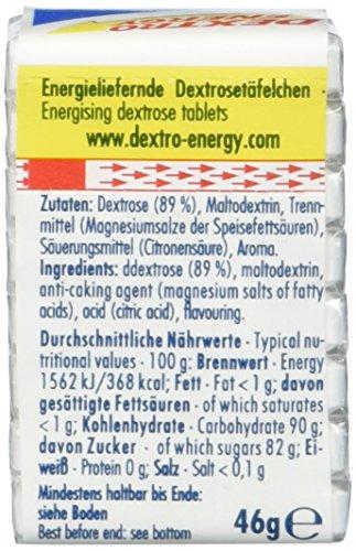 Dextro Energy Würfel Classic / Je 8 Dextrose-Täfelchen mit schnell verfügbarem Traubenzucker / 9 Packungen (9 x 46g)