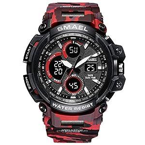 Armbanduhr-Men-Liusdh-Uhren-Doppelanzeigeuhr-fhrte-kampierende-Sportuhr-der-intelligenten-Multi-Vorwahlknopfuhrmilitrtarnung-im-Freien-uhr