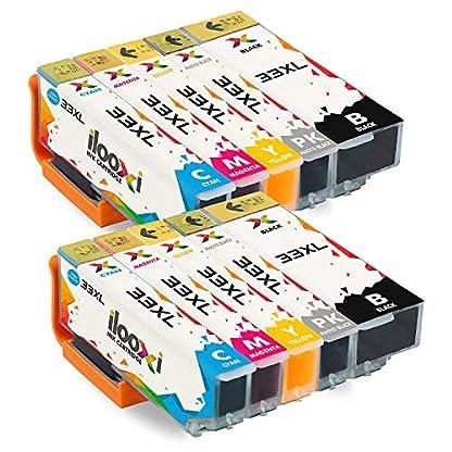 Ilooxi-Kompatibel-Epson-33XL-Druckerpatronen-mit-Chip-Hohe-Kapazitt-Kompatibel-mit-Epson-XP-530-XP-540-XP-630-XP-635-XP-640-XP-645-XP-830-XP-900-Drucker-Tintenpatronen