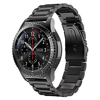 MroTech-22mm-Metallarmband-kompatibel-Gear-S3-FrontierClassic-und-Mehr-Uhren