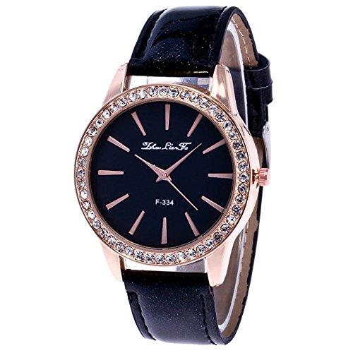 Souarts-Damen-Einfach-Design-Armbanduhr-Quartzuhr-Analog-mit-Batterie