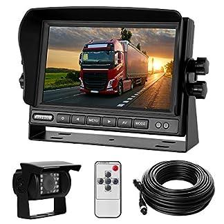 Rckfahrkamera-Set-mit-7-LCD-Monitor-170-Weitwinkel-Rckfahrkamera-18IR-Nachtsicht