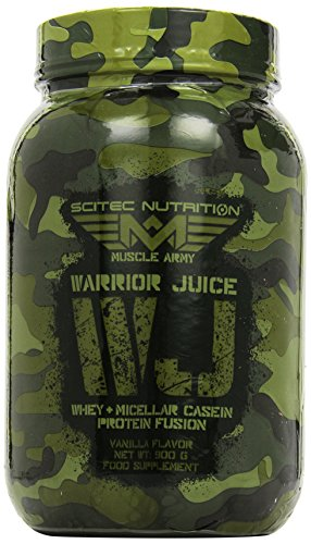 Scitec Nutrition Muscle Army Warrior Juice Vanille, 1er Pack (1 x 900 g)