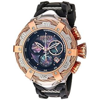 Invicta-Herren-analog-Schweizer-Quarzwerk-Uhr-mit-Silikon-Armband-21363
