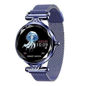 YANM-Damen-Sport-Armbanduhr-Fitness-Tracker-HD-Farbbildschirm-Herzfrequenz-Schlafberwachung-Bluetooth-Smartes-Armband-Aktivittstracker-weiblichen-physiologischen-Zyklus-berwachung