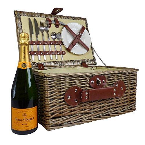 Weiden-Picknickkorb-Mit-Veuve-Clicquot-Champagner-Und-Integrierter-Khltasche-Die-Geschenk-Idee-Zur-Hochzeit-Geburtstag-Jubilum
