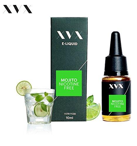 XVX E-Liquid  Mojito Geschmack  Elektronisches Liquid Für E-Zigarette  Elektronische Shisha Liquid  10ml Flasche  Nadelspitze  Präzise Befllung  Wähle Deinen Lifestyle  Neu Für 2016  Digitaler Rauch  Nikotinfrei  Tabakfrei