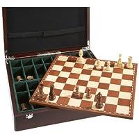 Philos-2504-Schachset-Exklusiv-mit-Schachbrett-und-Schachfiguren-in-Figurenbox-mit-Einzelfchern