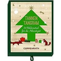 Schachtelspiel–Tannen-Tangram-24-Bilderrtsel-fr-die-Adventszeit