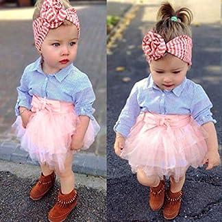 Vectry-Kleinkind-Baby-Mdchen-Infant-Outfits-Kleidung-Gestreiften-Langarm-Tops-Bogen-Tutu-Tllrock-Set12M-4T