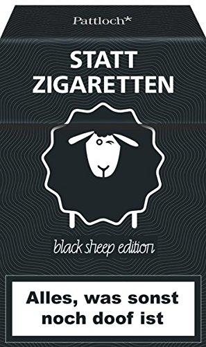 Statt Zigaretten: Alles, was sonst noch doof ist (black sheep edition)
