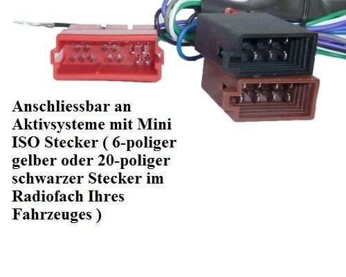 Aktiv-System-Radio-Adapter-fr-Audi-A2-A3-A4-B5-A6-A8-TT-Bose-DSP-Kabel-100W