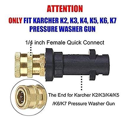 KANGIRU-Fr-K-K2-K3-K4-K5-K6-K7-Hochdruck-Reinigungsschaum-Topf-14-Schnelladapterstecker