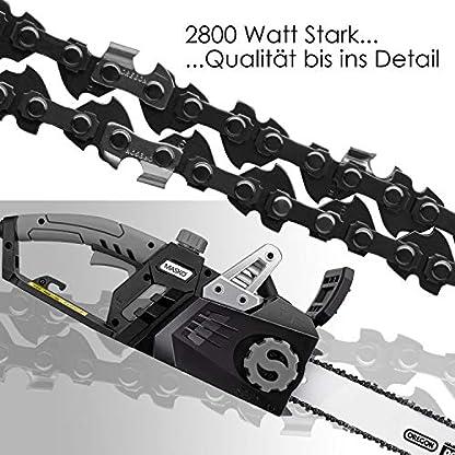 MASKO-Elektro-Kettensge-2800-Watt-46cm-Schnittlnge-Oregon-Kette-und-Qualittsschwert-mit-automatischer-Kettenschmierung-Elektrische-Motorsge-berlastungsschutz-inkl-Schutzhlle