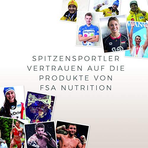 Glucomannan hochdosiert 180 Kapseln, 570 mg pro veganer Kapseln ohne chemische Zusätze – von der Profisport-Marke FSA Nutrition, Hergestellt in Deutschland