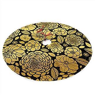 xifengquyuanyuanbaihuodian-Goldmosaik-blht-Weihnachtsbaum-Rock-frohen-WeihnachtsbaumBaum-Rock-fr-Weihnachtsdekor-Festliche-Feiertags-Dekoration