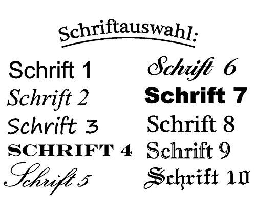 individuelle Gravur Wunsch Schlüsselband Anhänger Geschenk Filz Schmuck ( Farbe – Blau )