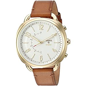 Fossil-F-Hybrid-Smartwatch-Damen-Gehilfe-Slim-Gepck-Leder-ftw1201