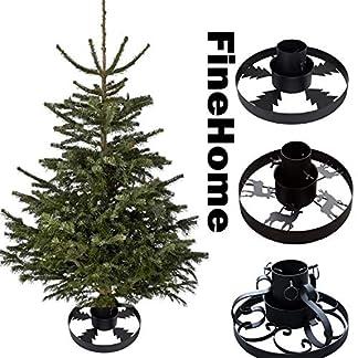 FineHome-Metall-Tannenbaumstnder-Weihnachtsbaumstnder–40cm-Baumstnder-Christbaumstnder-Verschiedene-Modelle