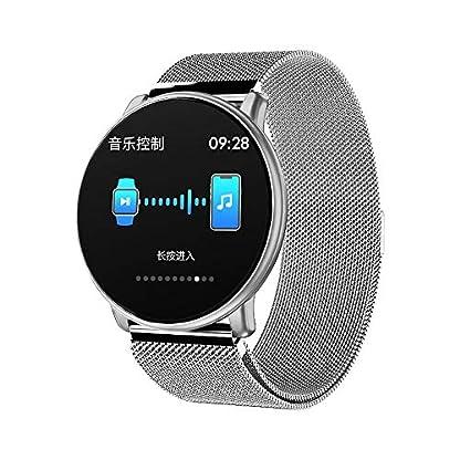 A-Artist-Smartwatch-133-Zoll-Farbbildschirm-Intelligente-Sportuhr-Wasserdicht-Fitness-Tracker-mit-Herzfrequenz-Schlafmonitor-und-Kalorienzhler-mit-Schrittzhler-Pulsuhr-fr-iOS-Android