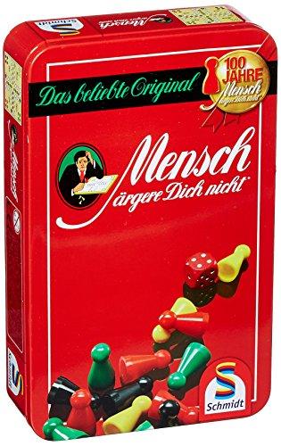 Schmidt-Spiele-51204-Mensch-rgere-Dich-nicht-in-Metalldose-Mitbringspiel