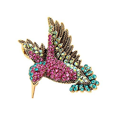Vintage Diamante Schönen Specht Tier Brosche Für Kleidung Dekoration